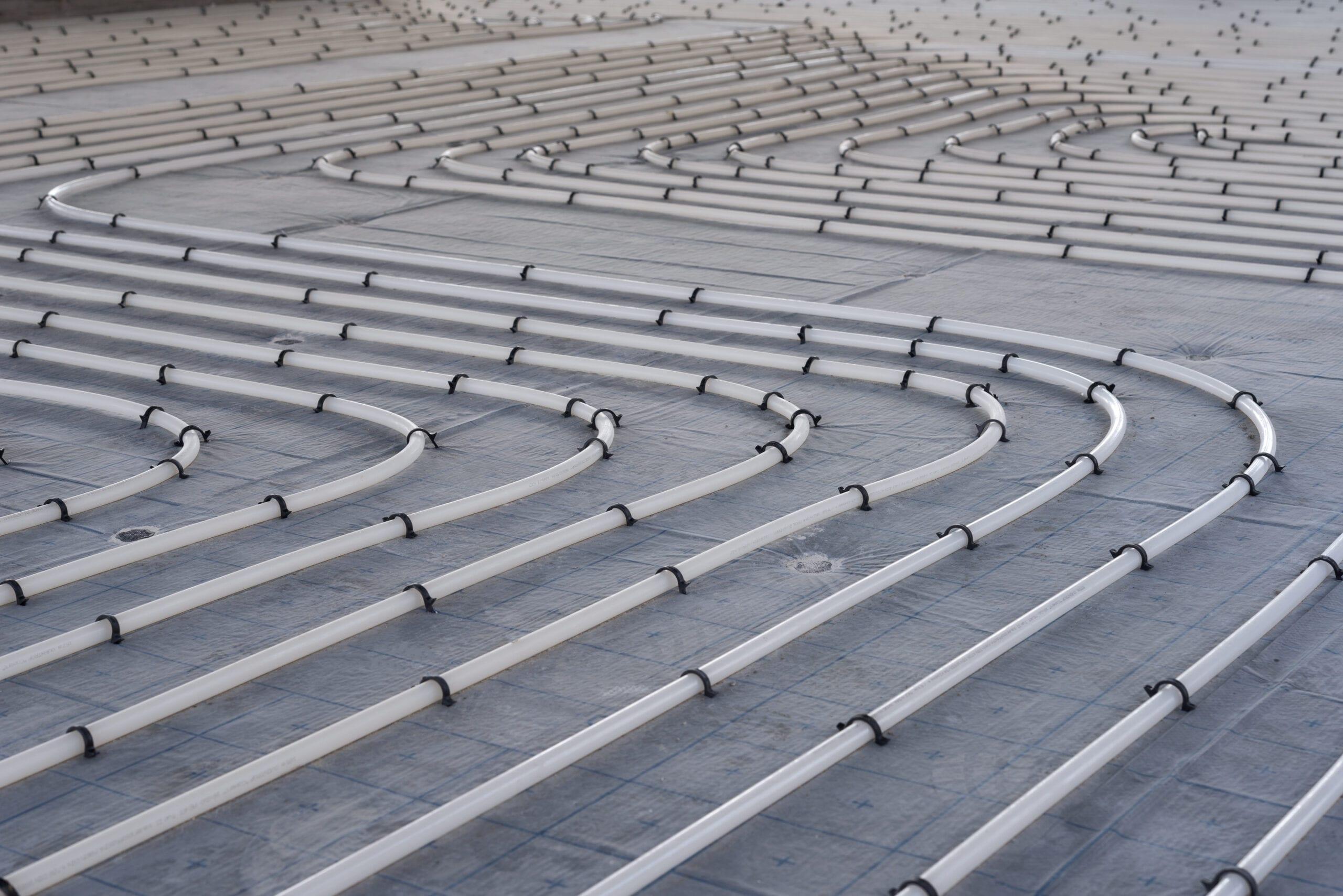 Tubazione per impianto a pavimento radiante per riscaldamento