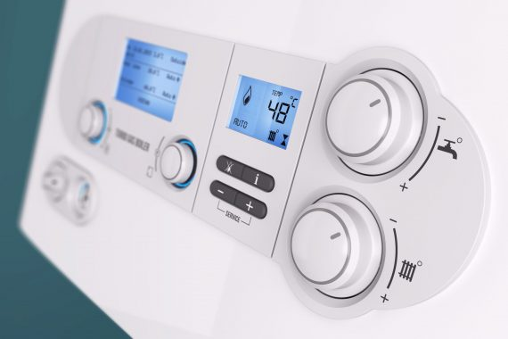 Comandi di controllo di una caldaia a condensazione