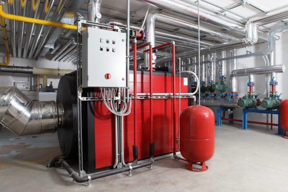 Centrale termica in locale tecnico